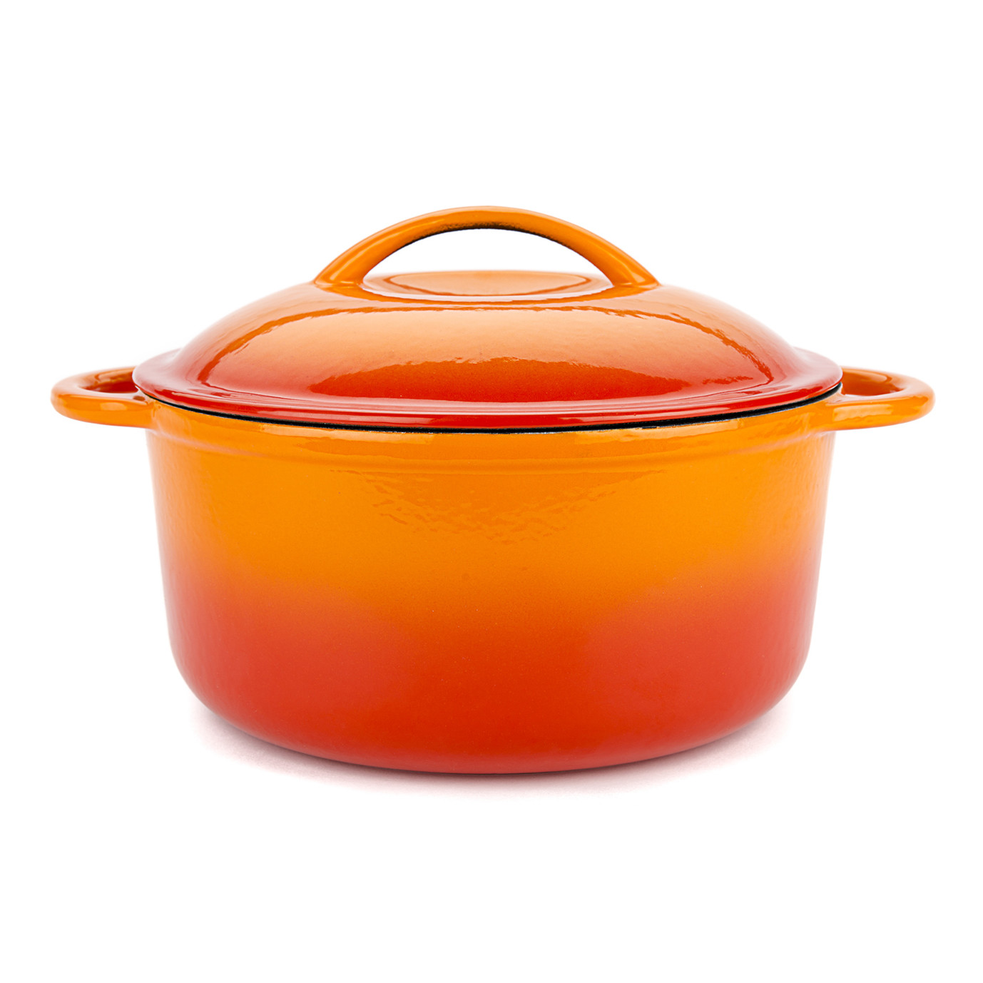 Orange Cooking Pot